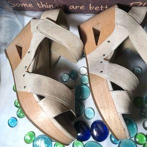 Eileen Fisher Wedged Sandals